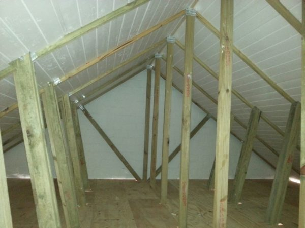 Insulated storage space