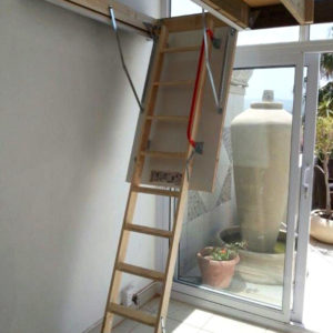 Wooden Loft Ladder DIY Kit